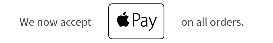 We Accept Apple Pay
